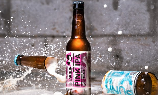 Brewdog's pink 'beer for girls' criticised as marketing stunt